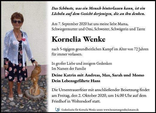 Profilbild von Kornelia Wenke