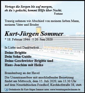 Profilbild von Kurt-Jürgen Sommer