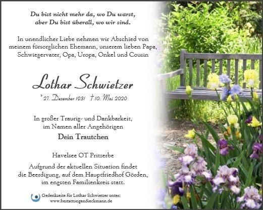 Profilbild von Lothar Schwietzer
