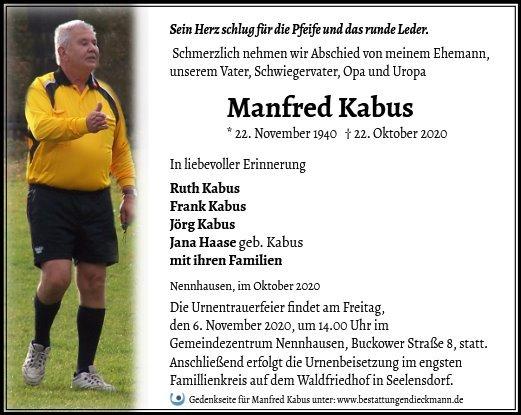 Profilbild von Manfred Kabus