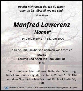 Profilbild von Manfred Lawerenz