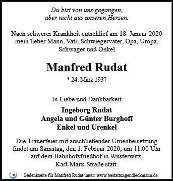Profilbild von Manfred Rudat
