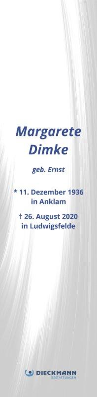 Profilbild von Margarete Dimke