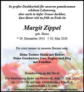 Profilbild von Margit Zippel