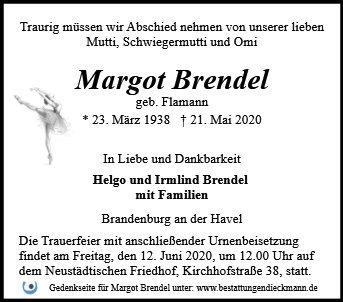 Profilbild von Margot Brendel