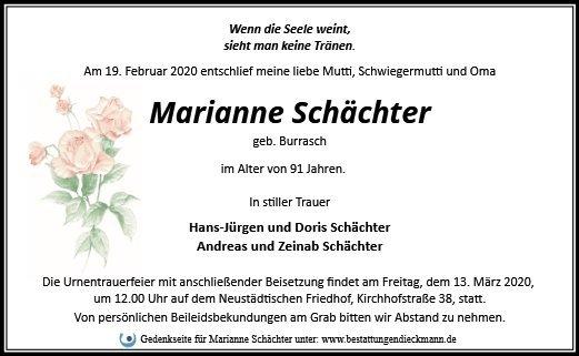 Profilbild von Marianne Schächter