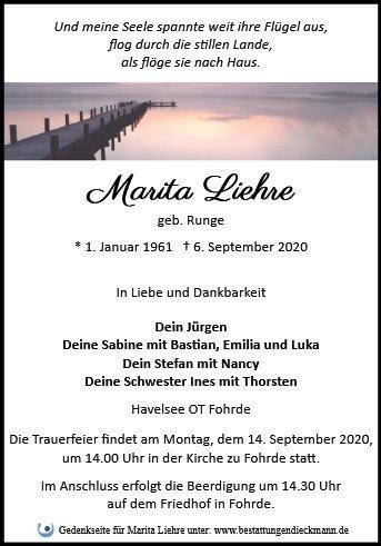 Profilbild von Marita Liehre