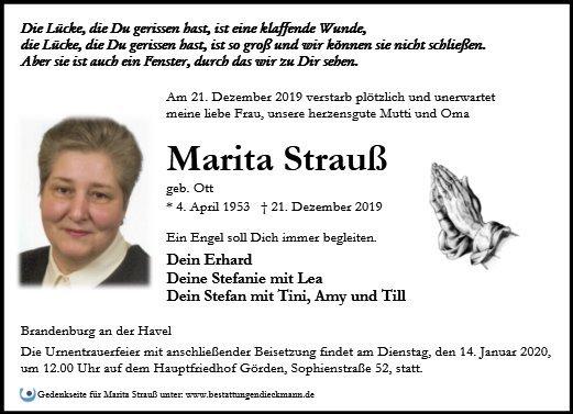 Profilbild von Marita Strauß