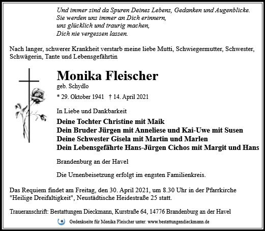 Profilbild von Monika Fleischer