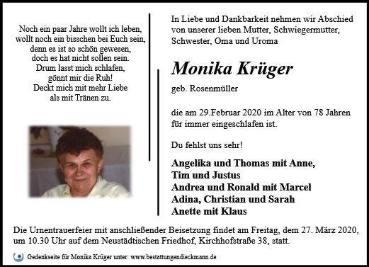 Profilbild von Monika Krüger