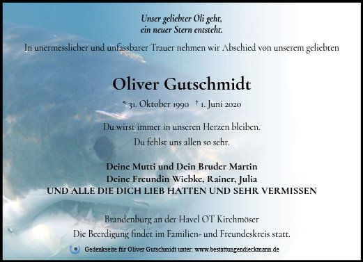 Profilbild von Oliver Gutschmidt