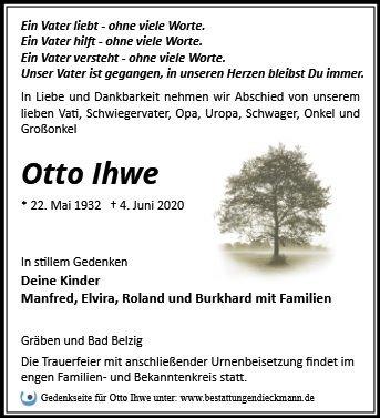 Profilbild von Otto Ihwe