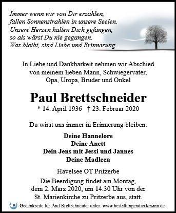 Profilbild von Paul Brettschneider