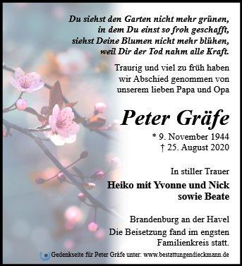 Profilbild von Peter Gräfe