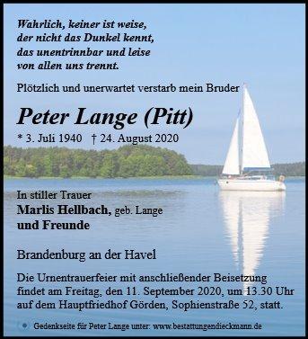 Profilbild von Peter Lange