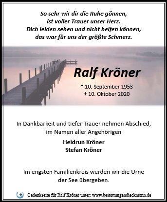 Profilbild von Ralf Kröner