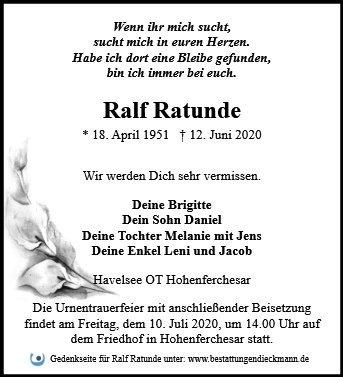 Profilbild von Ralf Ratunde