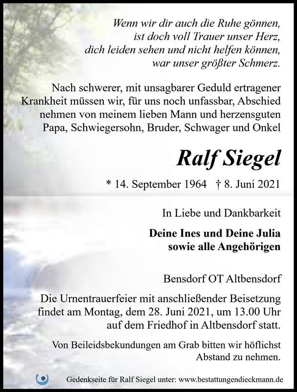 Profilbild von Ralf Siegel
