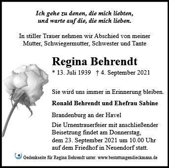 Profilbild von Regina Behrendt