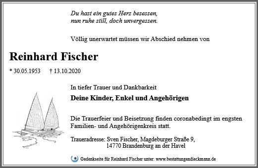 Profilbild von Reinhard Fischer