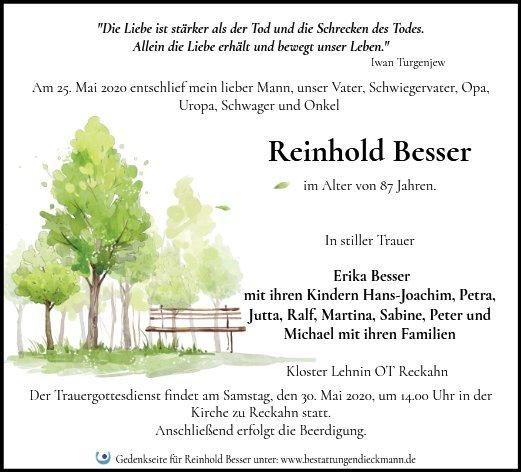 Profilbild von Reinhold Besser