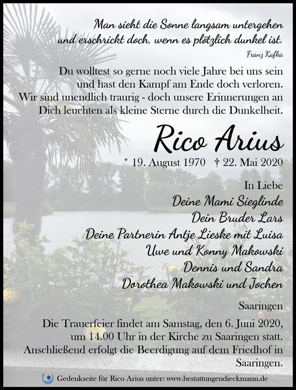 Profilbild von Rico Arius