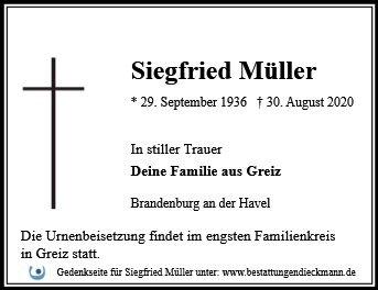 Profilbild von Siegfried Müller