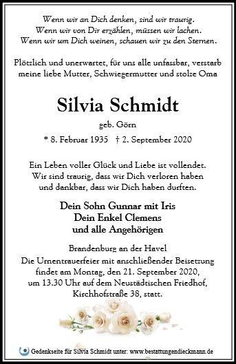 Profilbild von Silvia Schmidt