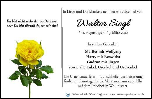 Profilbild von Walter Siegl