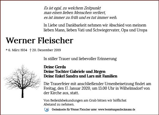 Profilbild von Werner Fleischer