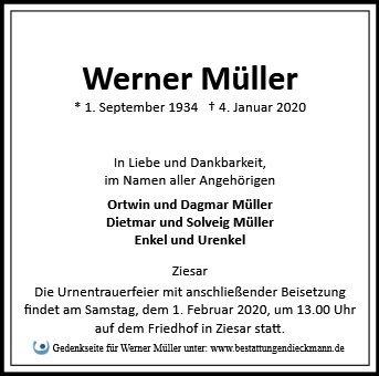 Profilbild von Werner Müller