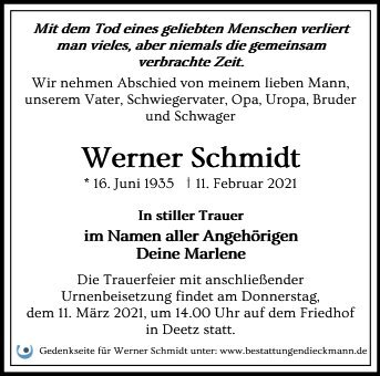 Profilbild von Werner Schmidt