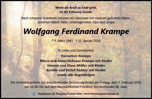 Profilbild von Wolfgang Krampe