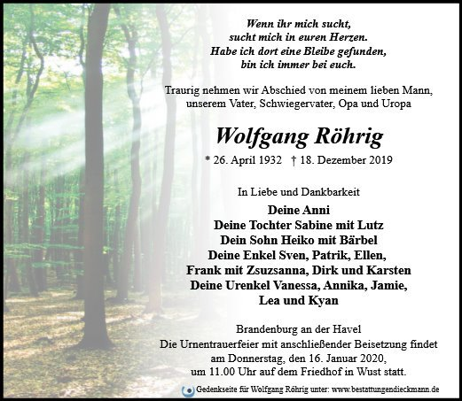 Profilbild von Wolfgang Röhrig